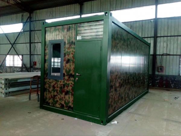 成都第九建筑建筑公司集装箱卫生间项目