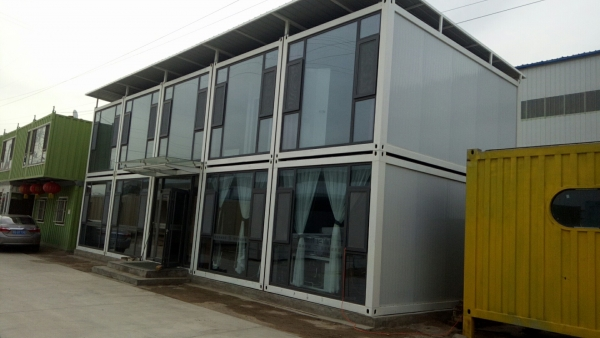 五原县现代化办公楼