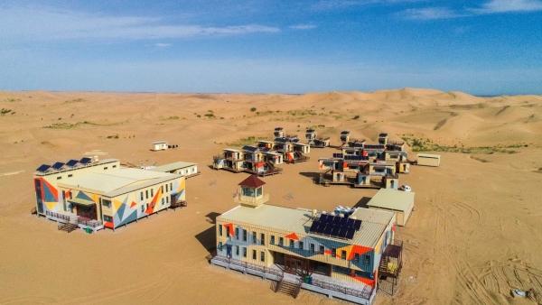 集装箱沙漠营地